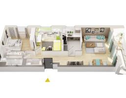 Mieszkanie w inwestycji Zielone Patio Pruszków, Pruszków, 50 m²
