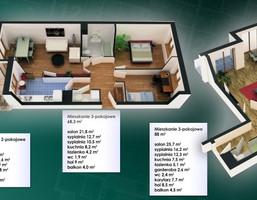 Mieszkanie w inwestycji WSM Osiedle Szmaragdowe, Warszawa, 61 m²