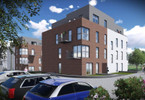 Mieszkanie w inwestycji Willa Miejska LUX, Gliwice, 57 m²
