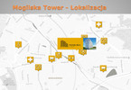 Mieszkanie w inwestycji Mogilska Tower, Kraków, 36 m²