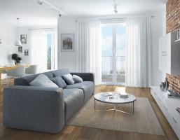Mieszkanie w inwestycji Centrum, Gdynia, 107 m²