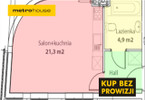 Kawalerka na sprzedaż, Poznań Stare Miasto, 30 m²