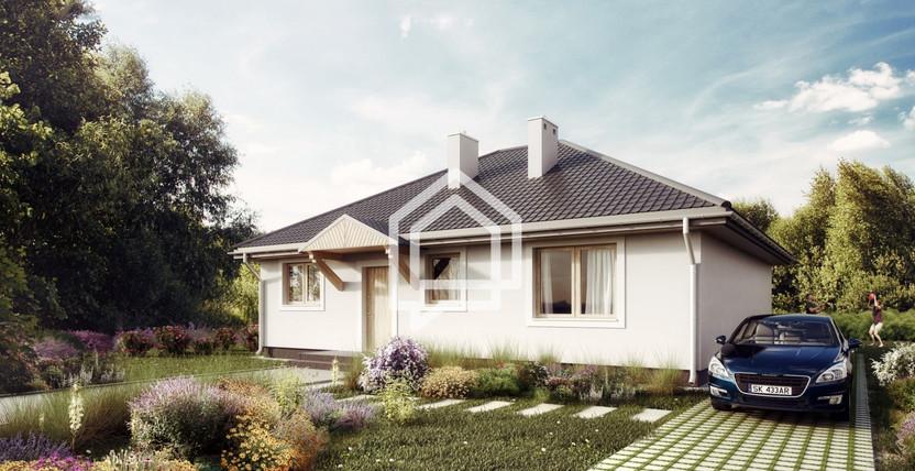 Dom na sprzedaż, Skubianka, 100 m²   Morizon.pl   0542