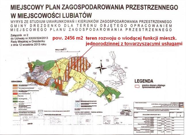 Działka na sprzedaż, Lubiatów, 2456 m² | Morizon.pl | 9213