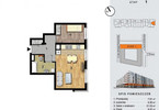 Mieszkanie w inwestycji ŚRÓDMIEŚCIE ODNOWA, Wrocław, 44 m²