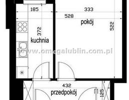 Kawalerka na sprzedaż, Lublin LSM, 31 m²