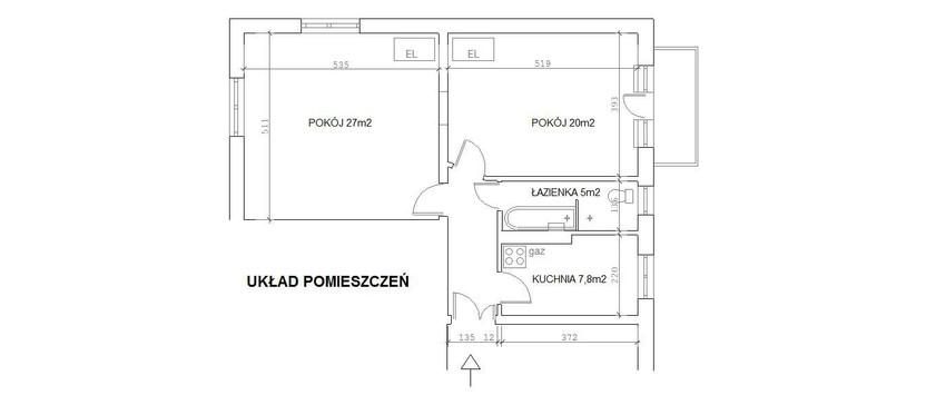 Mieszkanie na sprzedaż, Poznań Łazarz, 65 m² | Morizon.pl | 2241
