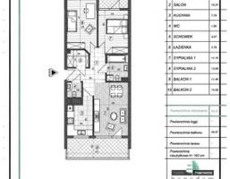 Mieszkanie w inwestycji Kuźnia Piastowska, Piastów, 66 m²