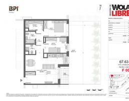 Mieszkanie w inwestycji WOLA LIBRE, Warszawa, 68 m²