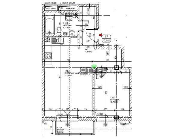 Mieszkanie na sprzedaż, Milanówek, 47 m²   Morizon.pl   6739