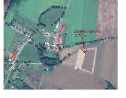 Działka na sprzedaż, Karwno, 37200 m²