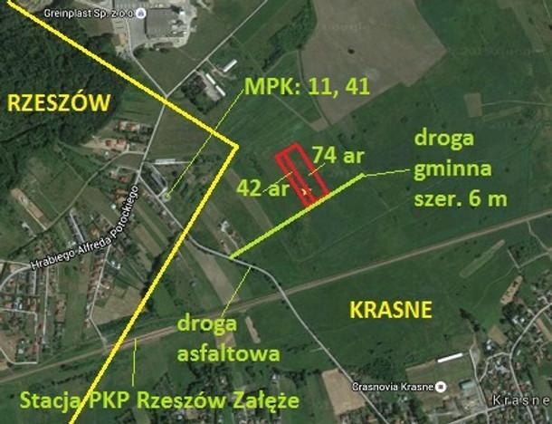 Działka na sprzedaż, Krasne, 11600 m² | Morizon.pl | 9500