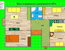 Mieszkanie na sprzedaż, Knurów Kazimierza Wielkiego, 57 m²