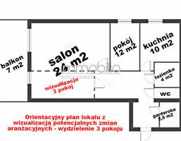 Mieszkanie na sprzedaż, Warszawa Gocław, 63 m²