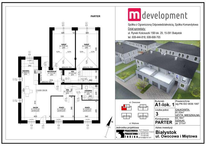 Mieszkanie na sprzedaż, Białystok Bacieczki, 81 m² | Morizon.pl | 5623