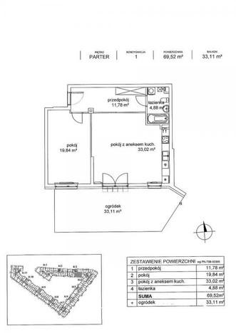 Mieszkanie na sprzedaż, Warszawa Wawrzyszew, 70 m² | Morizon.pl | 2506
