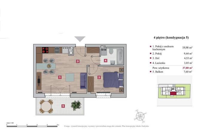 Mieszkanie na sprzedaż, Warszawa Ochota, 38 m² | Morizon.pl | 1768