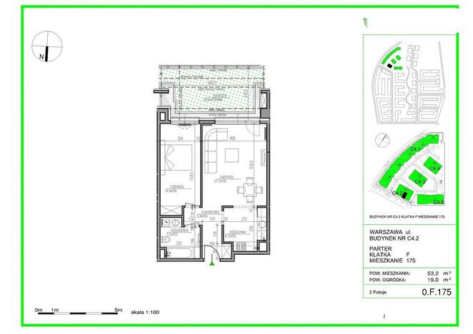 Mieszkanie na sprzedaż, Warszawa Błonia Wilanowskie, 53 m² | Morizon.pl | 2512