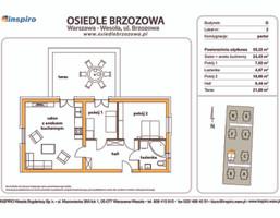 Mieszkanie w inwestycji Osiedle Brzozowa, Warszawa, 55 m²