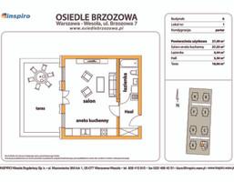 Mieszkanie w inwestycji Osiedle Brzozowa, Warszawa, 37 m²