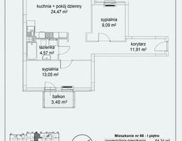 Mieszkanie w inwestycji New Fort, Góra Kalwaria (gm.), 64 m²
