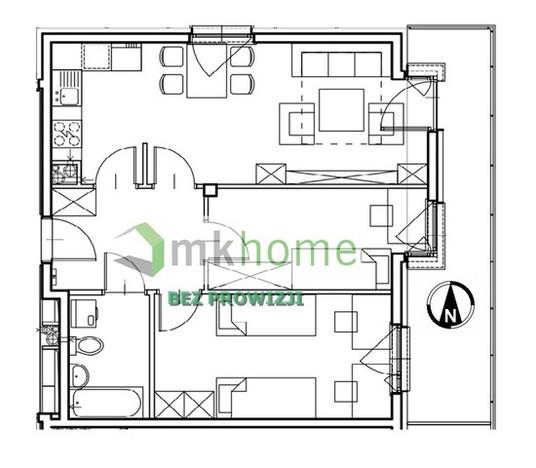 Mieszkanie na sprzedaż, Kraków Os. Prądnik Czerwony, 56 m² | Morizon.pl | 4236