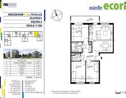 Mieszkanie w inwestycji Osiedle Ecoria, Poznań, 80 m²