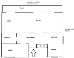 Mieszkanie na sprzedaż, Dębogórze, 75 m²