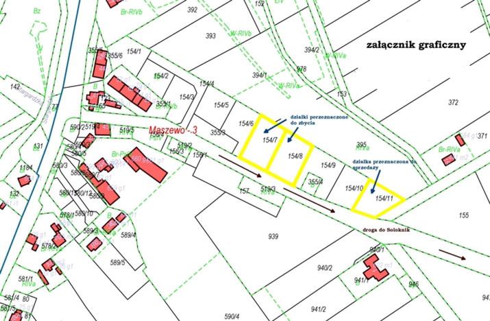 Działka na sprzedaż, Maszewo, 1652 m² | Morizon.pl | 0205
