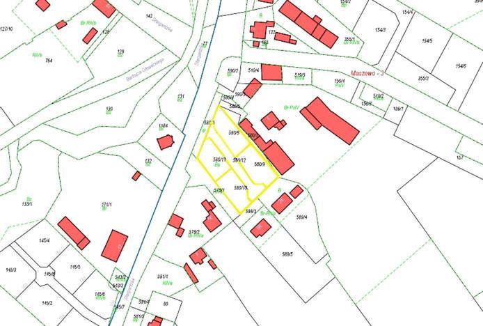 Działka na sprzedaż, Maszewo Stargardzka, 570 m² | Morizon.pl | 0297