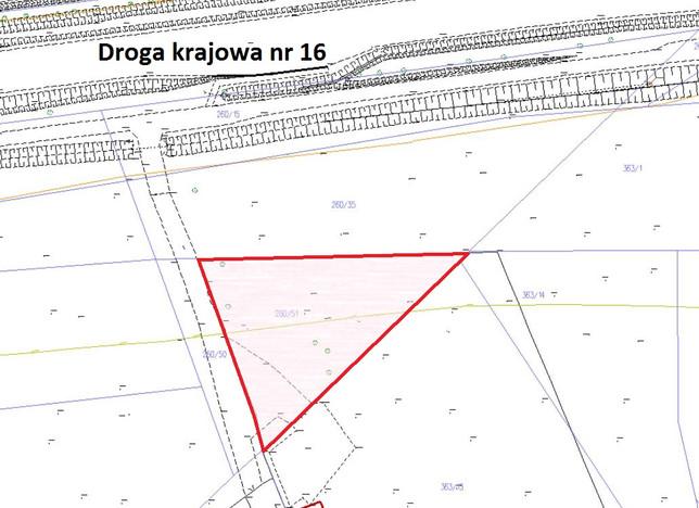 Działka na sprzedaż, Barczewo, 1784 m²   Morizon.pl   4341