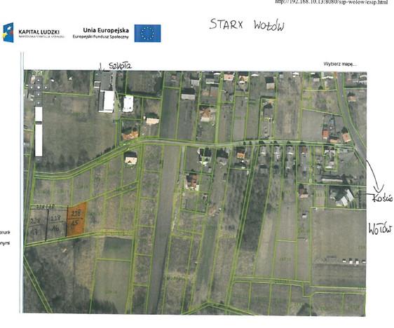 Działka na sprzedaż, Stary Wołów, 1130 m² | Morizon.pl | 2516