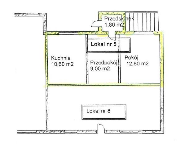 Mieszkanie na sprzedaż, Lubiąż, 33 m²   Morizon.pl   6103