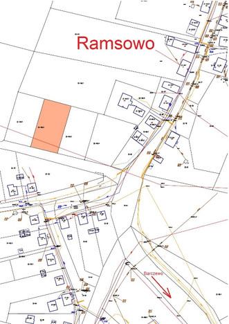 Działka na sprzedaż, Ramsowo, 1151 m² | Morizon.pl | 3490