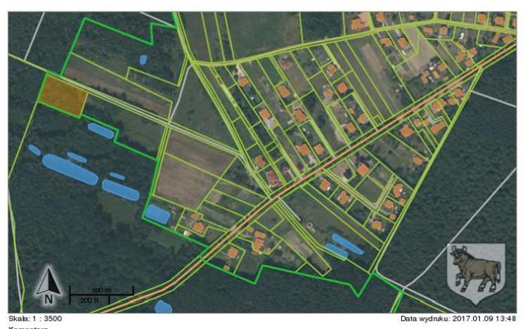Działka na sprzedaż, Wołów Leśna, 3283 m² | Morizon.pl | 2590