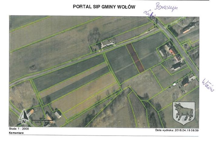 Działka na sprzedaż, Boraszyn, 1207 m² | Morizon.pl | 9615