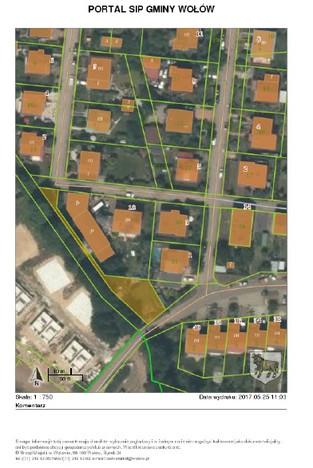 Działka na sprzedaż, Wołów, 424 m² | Morizon.pl | 7196
