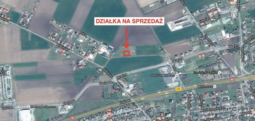 Działka na sprzedaż, Kostrzyn Polna, 860 m² | Morizon.pl | 7838