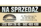 Działka na sprzedaż, Mława, 1309 m²