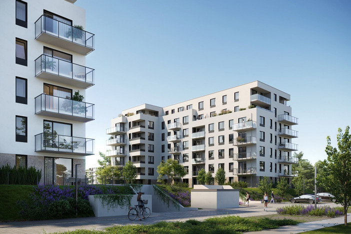 Mieszkanie w inwestycji Stacja Nowy Gdańsk, Gdańsk, 65 m² | Morizon.pl | 7621