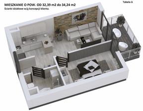 Mieszkanie w inwestycji KAPITAŃSKI MOSTEK, Kołobrzeg, 34 m²