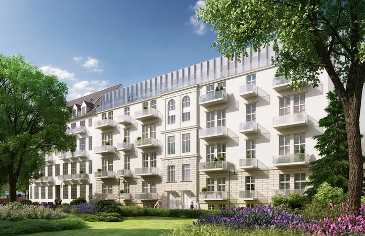 Mieszkanie w inwestycji Przy przystani, Wrocław, 25 m²   Morizon.pl   7345