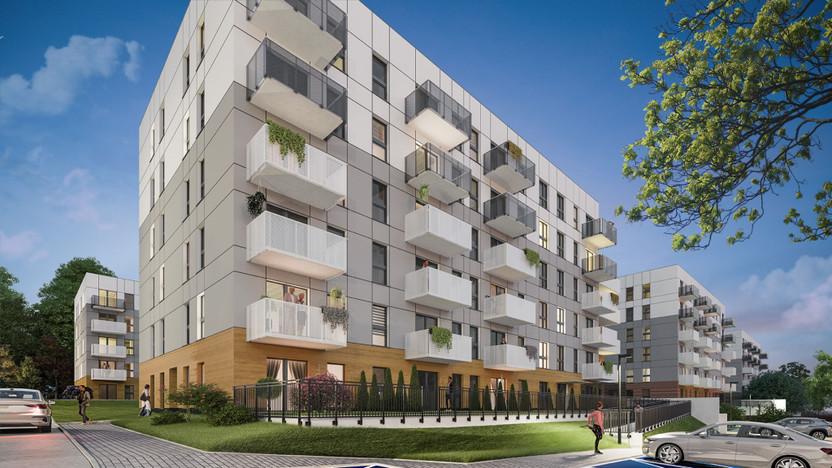 Mieszkanie w inwestycji Murapol Apartamenty Na Wzgórzu, Sosnowiec, 45 m² | Morizon.pl | 5111