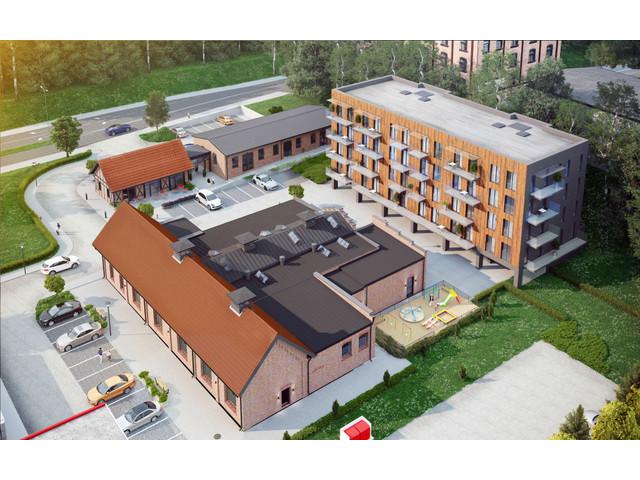 Morizon WP ogłoszenia | Mieszkanie w inwestycji Apartamenty & Lofty Dragonów, Olsztyn, 65 m² | 3310
