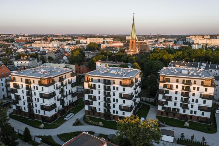 Morizon WP ogłoszenia   Nowa inwestycja - Ogrody Królowej Bony, Gliwice Śródmieście, 52-167 m²   8554