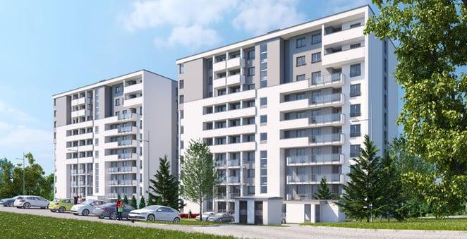 Morizon WP ogłoszenia | Mieszkanie w inwestycji Turniejowa B2, Kraków, 59 m² | 6443