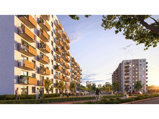Morizon WP ogłoszenia | Mieszkanie w inwestycji Murapol Nowe Miasto, Poznań, 56 m² | 2403