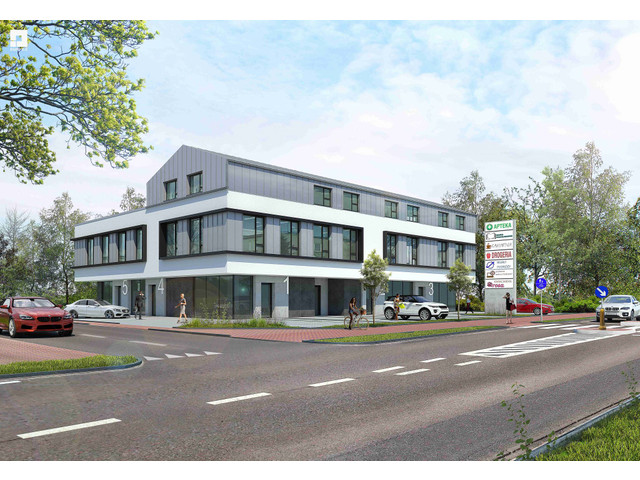 Morizon WP ogłoszenia | Biuro w inwestycji Atrium Office - lokale usługowe, Lubiczów, 570 m² | 8051