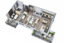 Mieszkanie w inwestycji MIASTECZKO NOVA OCHOTA, Warszawa, 75 m²