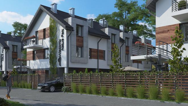 Morizon WP ogłoszenia | Dom w inwestycji Natura Park, Kraków, 130 m² | 3269